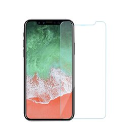 Wholesale Iphone Film Protector Case - Front Premium Tempered Glass Films Protecter Case Cover For Iphone X 8 Plus 7 6 6S Plus 5 5S SE 4S Screen Protector