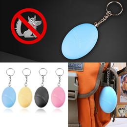 DHL libre Forma de huevo Autodefensa Alarma Chica Mujeres Anti-Ataque Anti-Violación Protección de Seguridad Alerta de Seguridad Personal Scream Loud Keychain Alarm desde fabricantes