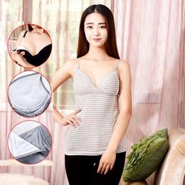 Wholesale Nursing Belts - 7 Colors Maternity Nursing Tank Tops Summer Breastfeeding Clothes for Pregnant Women Cotton Nursing Vest Maternity Camisole M L XL Choose