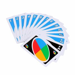 Wholesale International Plays - Wholesale- Family Funny Entertainment Board Game UNO Fun Poker Playing Cards Puzzle Games family fun poker russian rules free shipping