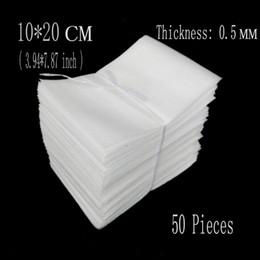 Wholesale Wholesale Eva Foam Sheets - Wholesale-10*20cm (3.94*7.87 inch) 0.5mm 50Pcs EPE Packing Foam Protective Bags Packing Wrap Eva Foam Sheet Board Insulation Verpakking