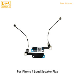 Wholesale Barred Iphone - 5pcs lot For iphone 7 7G 7 Plus Loud Speaker Buzzer Ringer Flex Cable Repair Replacement Parts Loud Sound Bar Speaker Assembly Original