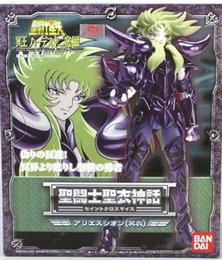 Wholesale Bandai Saint Seiya Myth Cloth - Free shipping Bandai Saint Seiya Cloth Myth Specters Surplice black Aries Pope Shion