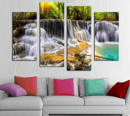 1set (4pcs) peinture abstraite de peinture à l'eau de style européen, sans cadre ? partir de fabricateur