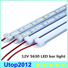 Wholesale Light Strip Cover - 10% DC12V 5630 LED Bar Light 5630 With PC Cover 50cm 36leds LED Rigid Light 5630 LED Hard Strip