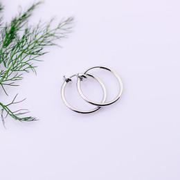 Falso nastro anello nero online-Moda 1 paio di clip su naso finto anello a cerchio orecchio setto labbro orecchini all'ombelico corpo gioielli neri non penetranti