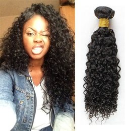 Wholesale Wholes Sale Weave - Whole sale Price Mongolian Hair Wefts Afro Kinky Curly Hair Weaves Human Hair Extension 3pcs Lot