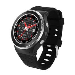 Wholesale Gsm Watches Wifi - New ZGPAX S99 GSM 3G Quad Core Android 5.1 Smart Watch 5.0MP Camera GPS WiFi Bluetooth V4.0 Pedometer Heart Rate.
