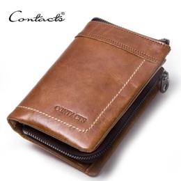 Wholesale Exclusive Handbags - Con's-2017 Men's Wallets Leather Short Handbag Bunny Cattle Men's Handbag Retro Wallet Bag Bag Exclusive Design M1027