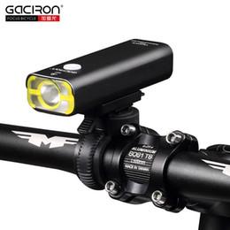 Wholesale Led Bicycle Mini Light - Gaciron Cycling Waterproof Led Lights Usb Rechargeable Mini Bike 400Lumens Handlebar Front Light Bicycle Accessories