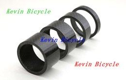 Wholesale Pc Road - Full carbon bike headset spacer, ultra light, 4 pcs a set Fits 1-1 8