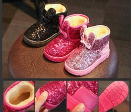 Wholesale Waterproof Snow Boots Wholesale - 2016 Winter burst models children snow boots snow boots waterproof baby shoes thicker warm children's shoes