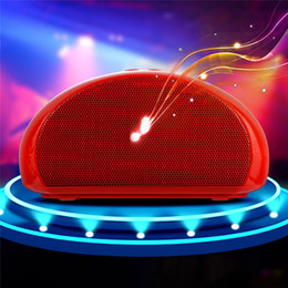 Wholesale Mini Mouse Speaker - newest speaker Y40 wireless bluetooth sports portable outdoor subwoofer FM TF card HF USB with retailed package mouse shape candy color gift