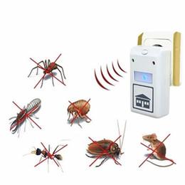Macchina animale calda online-2016 vendita calda eco-friendly Plus Repellente parassita di controllo elettronico ad ultrasuoni macchina Repeller animali 110V / 220V