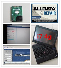 Wholesale Hyundai Auto Repair - auto repair laptop x201t i7 4g alldata v10.53 mitchell on demand 2in1 with 1000gb hard disk 2018 installed version ready to use