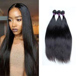 Wholesale Cheap Items Sell - Peruvian Straight Virgin Human Hair Remy Hair Extensions Cheap Unprocessed Brazilian Malaysian Peruvian Hair Weave Bundles Hot Selling Items