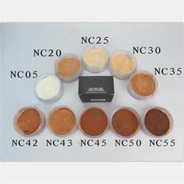 Wholesale Select Natural - M Brand Makeup Face Powder Select Sheer   Loose Pouder Libre Diaphane Loose Powder with box Matte Mineral Powder 8g Foundation