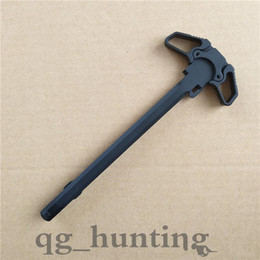 Wholesale Airsoft M4 Gbb - Butterfly style Metal competition Charging Handle .223 556 poignee airsoft for WA G&P PTW M4   M16 Series Airsoft GBB airsoft m16