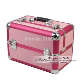 Wholesale Vanity Boxes - Wholesale- Free Shipping New 2014 Top Quality makeup cosmetics makeup case vanity beauty box