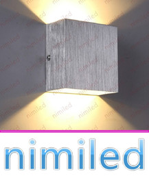 Wholesale Lit Sofa - nimi973 6W Minimalist Aluminum LED Square Wall Lamps Bedside Bedroom Living Room Sofa TV Background Cafe Lights Corridor Hallway Lighting