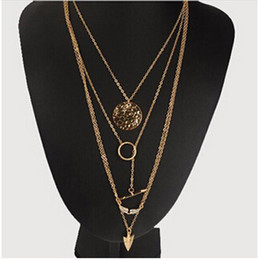 Wholesale Womens Jewelry Chunky Bib Necklaces - Women Fashion Charm Jewelry Choker Chunky Statement Bib Pendant Gold Chain Necklace Gift Womens Clothing Accessories