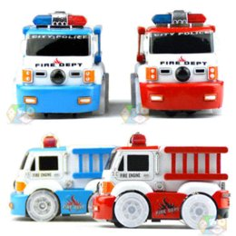 Wholesale Light For Fire Truck - car toy for kids The electric fire truck urban rescue team Electric lighting electric car toy cars