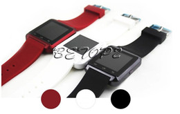 Wholesale Pc Wrist Watch - 50 pcs Bluetooth Smartwatch U8 Smart Watch Wrist Watches For iPhone 6 6s Plus Samsung S6 S7 Edge Note 5 HTC Android Phone