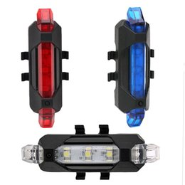 Wholesale Cycling Bike Seat - Portable Rechargeable LED USB Cycling Bike Tail Light Taillight MTB Safety Warning Bicycle Rear Seat Light Lamp Bycicle Light