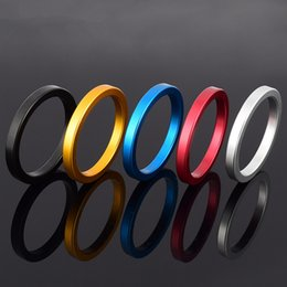 Wholesale Adult Cases - Metal Aluminum Penis Rings Male Cockrings Delayed Ejaculation Adult Products Casing Delay Lock Loops Cock rings Sex Rings
