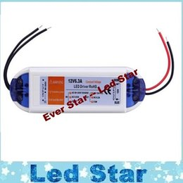 Wholesale Led Driving Bulbs - led strip adapter 12V 6.3A 72W Power Supply adaptor transformers switch for LED Strip RGB ceiling Light bulb lamps driving power