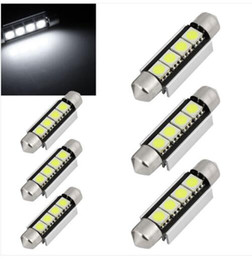 Wholesale Can Brake - 100PCS Festoon Canbus 44mm 42mm SV8,5 C10W 264 SMD LED CAN-BUS interior Car Bulbs WHITE wholesale price