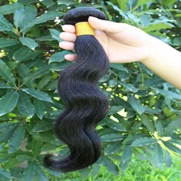 Wholesale Goddess Remy Hair - Remy human hair body wave maylasian body wave No Shed No Tangle goddess hair weave wholesale 3pcs Lot Free Shipping
