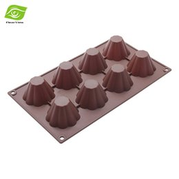 Wholesale Bakery Liners - Creative Silicone Cupcake Liner Baking Cup DIY Lace Mold Bakery Pastry Tools Bakeware Cake Pan