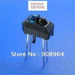 Wholesale Ir Photoelectric Switch - Wholesale-wholesale 100pcs lot TCRT5000 TCRT5000L reflective IR Sensor photoelectric switch