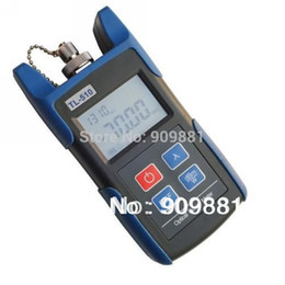 Wholesale Portable Power Meter - Portable Optical Power Meter With FC SC ST Connector -70~+10dBm Fiber Meter For CATV Communication TL510A Free Shipping