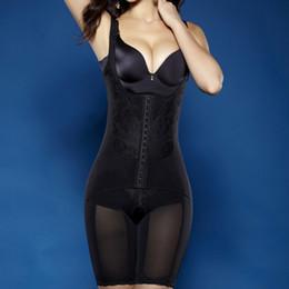 Wholesale Print Control - Wholesale-Full Body Waist Cincher Hip Abdomen Tummy Control Corset Shapewear Suit Hot Shapers Y46