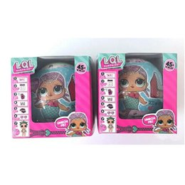 Wholesale Ball Pottery - halloween toys Funny ball LQL SURPRISE DOLL Unpacking Dolls Dress Up Toys baby Tear open change egg dolls can spray toys