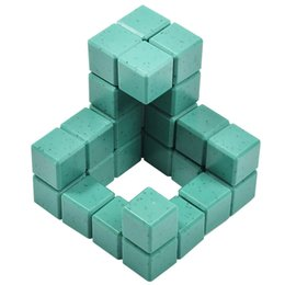 Wholesale Puzzle Block Game - 2017 new 3D building model building blocks toy children's exercise logic thinking puzzle children's parent game building block toys