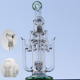 Wholesale Water Arts - New liquid glass arts 2016newest glass water pipes oil rig new liquid Shaped like angel wings glass bongs glass bubbler 14.4mm joint