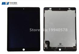 100% New LCD Assemblée pour ip ad Air 2 noir ensemble d'affichage (LCD Digitizer / Front Panel) Livraison gratuite ? partir de fabricateur