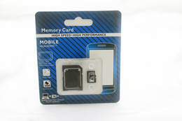 Wholesale Memory Card Retail - new version DHL 32GB 64GB 128GB Micro SD TF Memory Card Class 10 With Adapter Class 10 TF Memory Cards with Free SD Adapter Retail Package