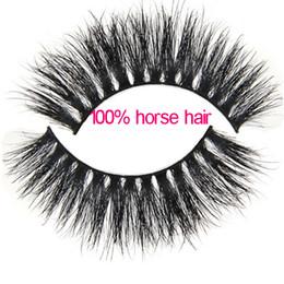 Mt020 vrai cheval cheveux faux cils épais cils 3D cils de cheval Cheveux longs cils cils épais cils plus doux cils ? partir de fabricateur