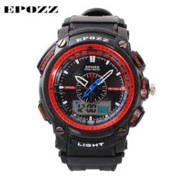 Wholesale Diver Watch Army - New 2014 Army clock Men sports watches brand Epozz Military watch waterproof digital watches men relogio masculino montre homme