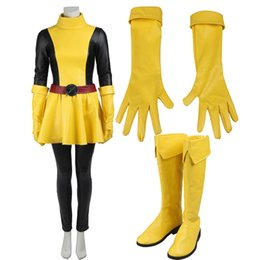Wholesale Womens Costume Plus Size - 2016 New Comics Superhero X-men Sexy Womens Magik Cosplay Costume with Boots and Gloves Halloween Party Customize Any Size