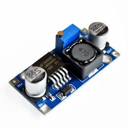 Wholesale Voltage Regulator Adjustable - Wholesale- Ultra-small LM2596 power supply module DC   DC BUCK 3A adjustable buck module regulator ultra LM2596S 24V switch 12V 5V 3V