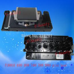 Wholesale Printer Dx5 - New Original Print Head F160010 Printhead compatible For Epson 4400 4800 7800 7400 9800 9400 DX5 Water Printer Head