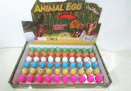 Wholesale Latex Dragon - Kids Novelty Easter egg Dinosaurs Hatch eggs 2*3cm children dragon Dinosaurs toys Novelty Educational Learning Toys Children's day gift