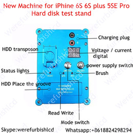 Wholesale Se Instruments - NEW machine PCIE chips hard disk test stand HDD repair instrument jig for iPhone 6s 6s plus SE Pro change SN with Software