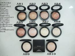 Wholesale Skinfinish Natural - Free shipping !1PCS NEW Makeup Mineralize Skinfinish Powdre De Finition Face Powder 10g,10 color choose