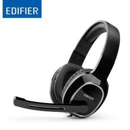 Wholesale Headphones Games - Edifier K815 HIFI Headphones Noise reduction Game Headset Clear sound Headphone with Microphone for Smartphone Desktops Laptops